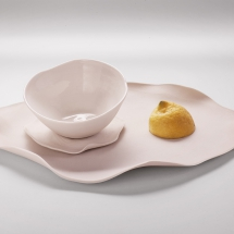 cup&tray total white
